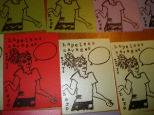Hopeless Savages Art Cards